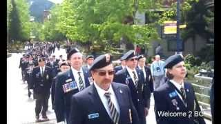 Royal Canadian Legion Convention March May 24th 2013, Whisatler BC