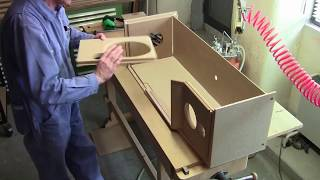 Manufacturing of a Jean Maurer loudspeaker