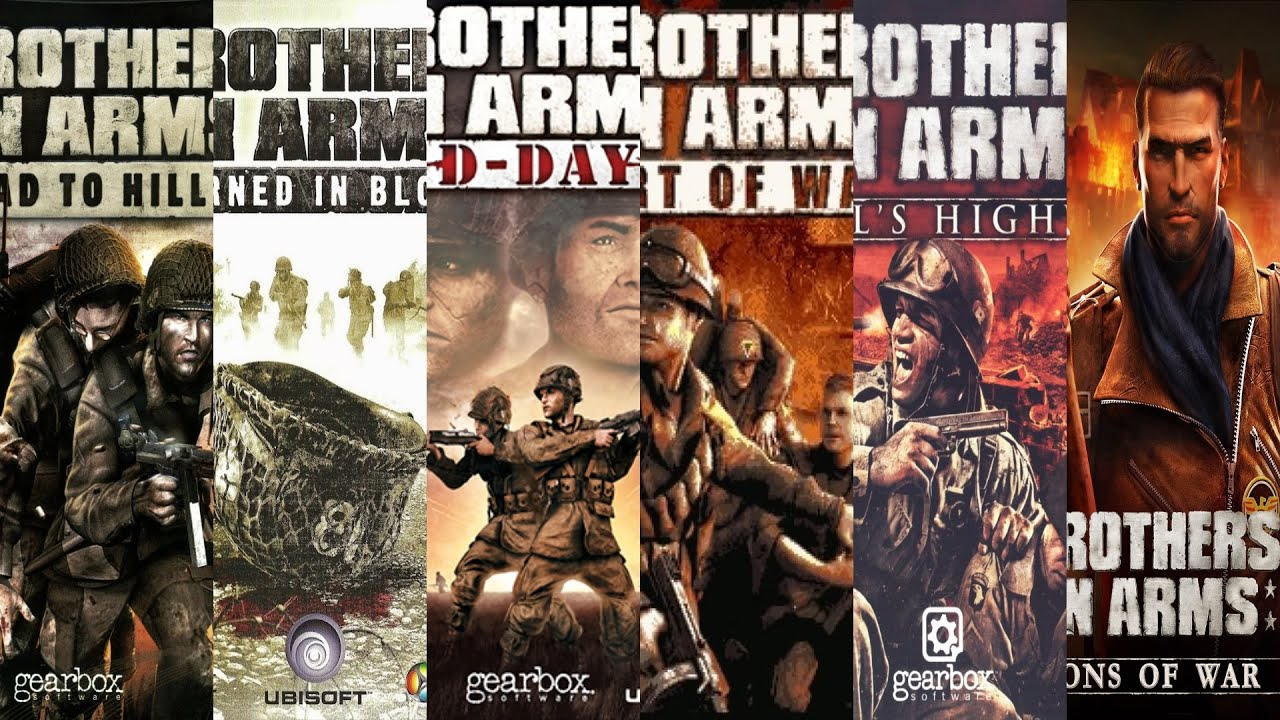Download The Evolution of Brothers in Arms Games