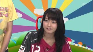 どようDEど~よ ファジアーノ岡山特命PR部 桃瀬美咲さん.