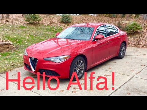 My 2019 Alfa Romeo Giulia Has Arrived Youtube