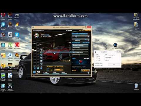 Доп. слоты в гараже в Need For Speed World.