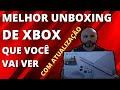 MELHOR UNBOXING DE XBOX ONE S COM ATUALIZAÇÃO