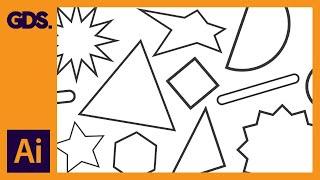 Erstellen von shape-Vektoren in Adobe Illustrator Ep8/19 [Adobe Illustrator für Einsteiger]