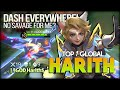 Dash Non-stop! My Savage Please? ༆ | §GOD Harith$ Top 1 Global Harith - Mobile Legends: Bang Bang