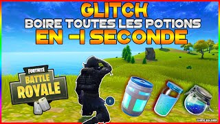 BOIRE THE FORTNITE POTION 1 SECOND! GLITCH BATTLE ROYALE