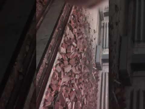 Депо инская рухнула стена хорошо никто не пострадал