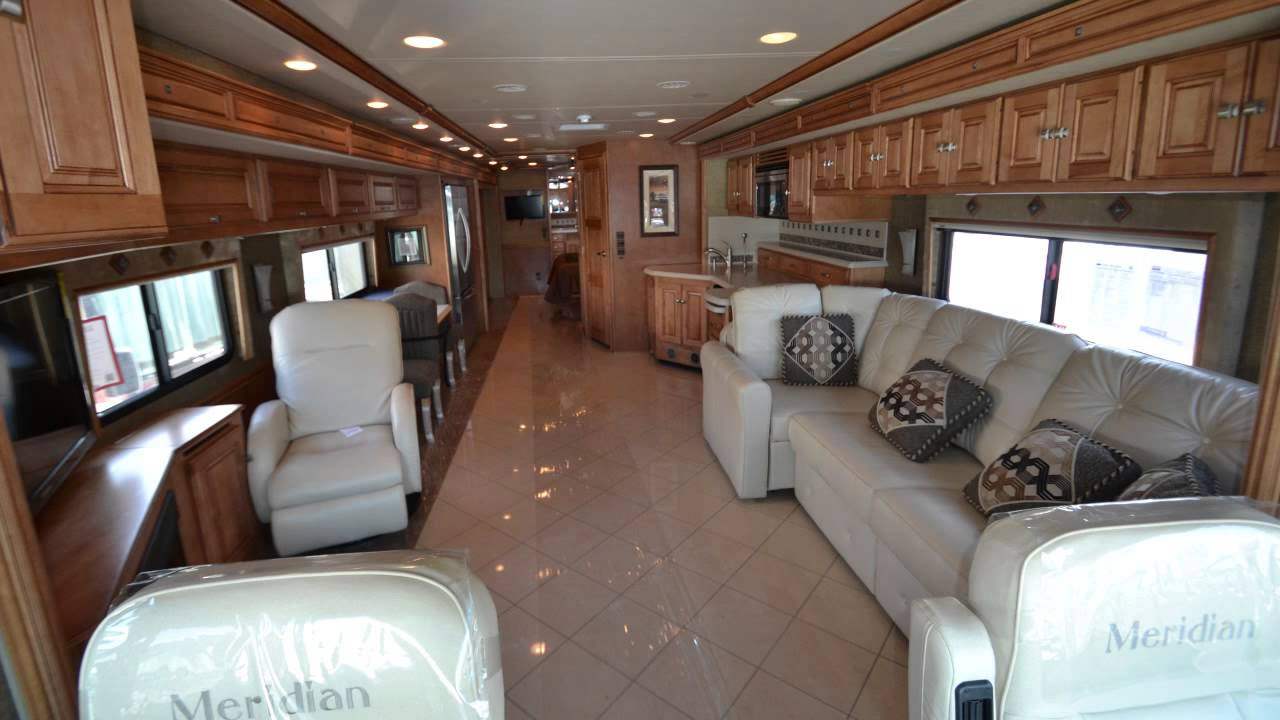 Itasca meridian 42e motorhome for sale in illinois youtube for Barrington motor sales rv