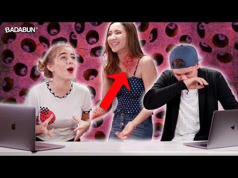 YouTubers Vs Tripofobia. Enfrentan su peor miedo