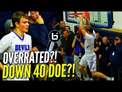 Mac McClung SHUTS UP the Haters! Crowd Chants 'OVERRATED!!' Even After Down By 40 Lol