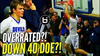 "Mac McClung SHUTS UP the Haters! Crowd Chants ""OVERRATED!!"" Even After Down By 40 Lol"