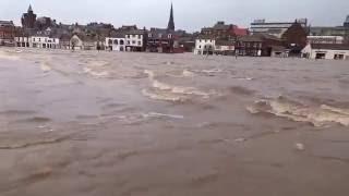 Storm Frank & the Dumfries Flood, 30th Dec 2015