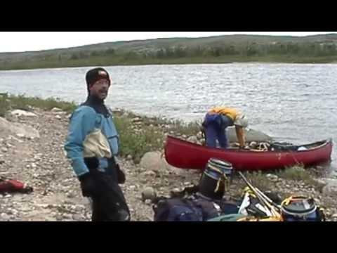 Canot - rivière aux Feuilles - Nunavik (Québec)