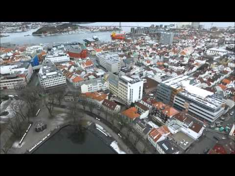Stavanger Norway Drone flight - Drone films Norway