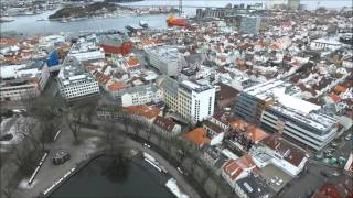 Stavanger Norway Drone flight - Drone films Norway