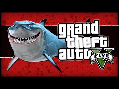 GTA 5: Roller Coaster, Shark Easter Egg Glitch, Back To The Future, (Online Comedy Gaming)