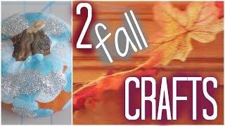 Download Video DIY - 2 Fall Crafts MP3 3GP MP4