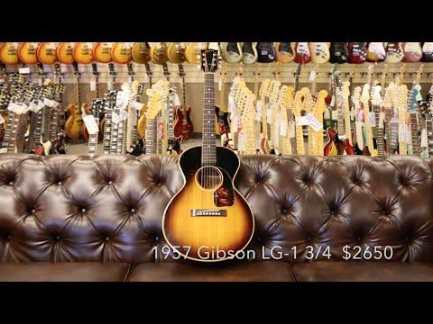 Guitar Close Up - 1957 Gibson LG-1 3/4  $2650