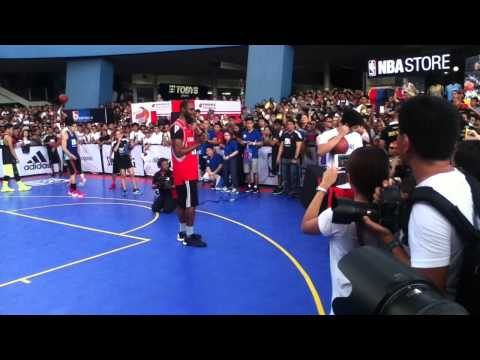 NBA 3X Philippines Dunk Contest Final - Ricci Rivero (2nd Round)