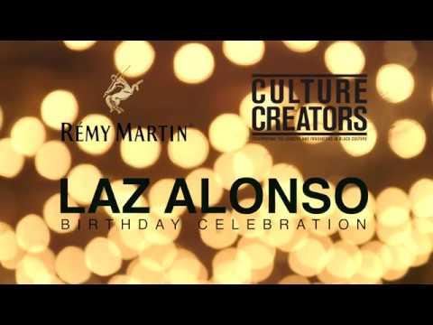, [VIDEO] Happy Birthday Laz Alonso–Remy Martin Style!