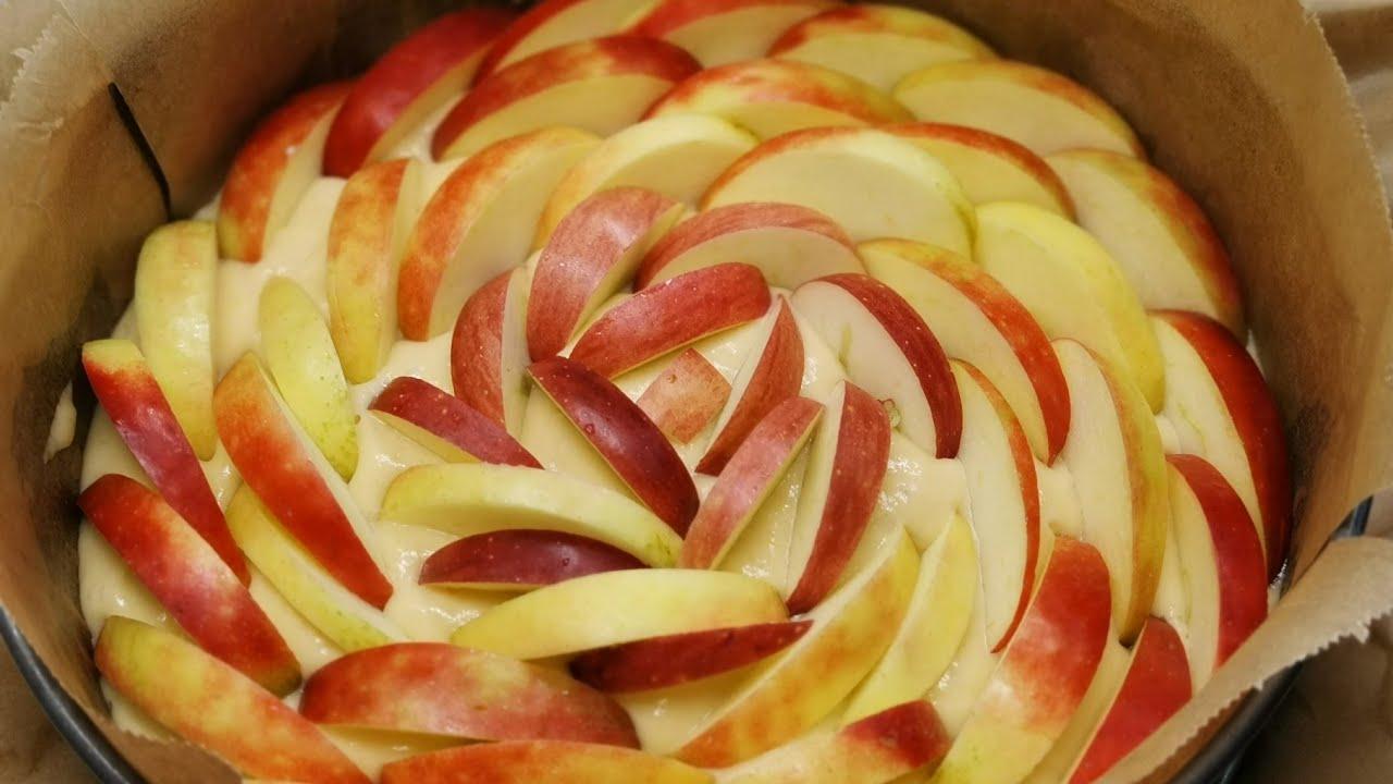 Luftiger Apfelkuchen - alle Gäste wollten das Rezept, so lecker! Apfelkuchen selbermachen