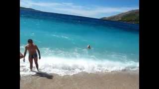 видео Золотой рог – красивейший хорватский пляж