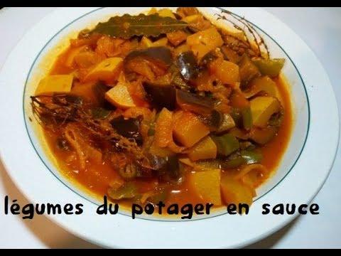 courgette-aubergine-et-poivron-en-sauce-😋🥒🍆