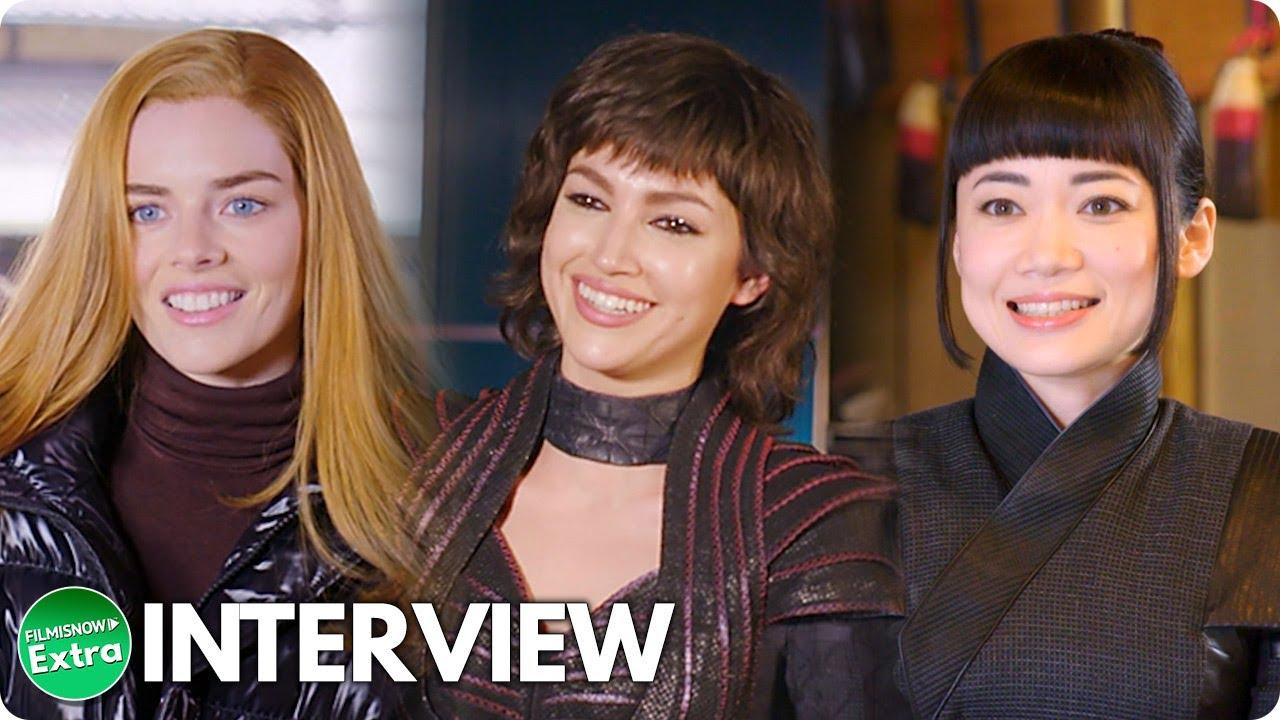 SNAKE EYES: G.I. JOE ORIGINS (2021) | Samara Weaving, Úrsula Corberó & Haruka Abe On-set Interview