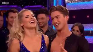 Mollie King & AJ Pritchard -  Strictly Come Dancing - 14th October 2017