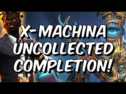 X-Machina Uncollected Completion! - Warlock & Sunspot Event! - Marvel Contest of Champions