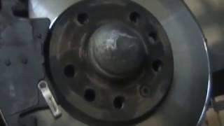 Почему быстро стираются колодки/ Why the pads are quickly erased
