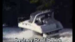 Andrew from Sydney Boats Rides a Mustang