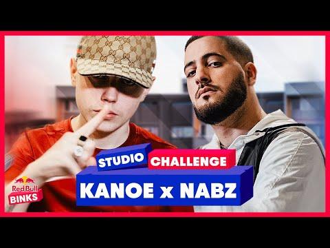 Youtube: KANOE ultra VIOLENT sur le BOOM BAP de NABZ – Red Bull Studio Challenge #24