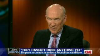 CNN: Alan Simpson lashes out at both parties