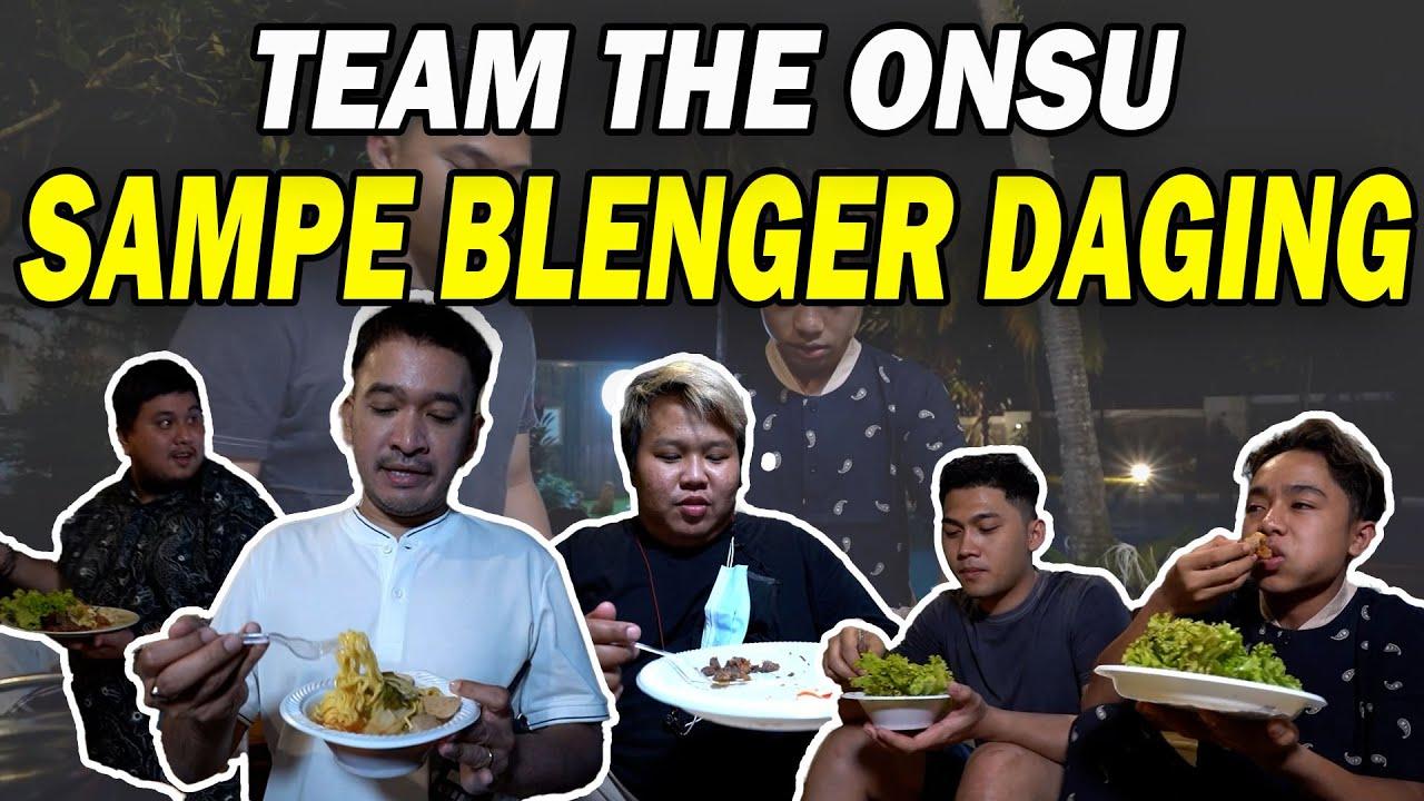 The Onsu Family - Team The Onsu di bikin blenger karena daging!! SUPER NIKMAT dan SERUU