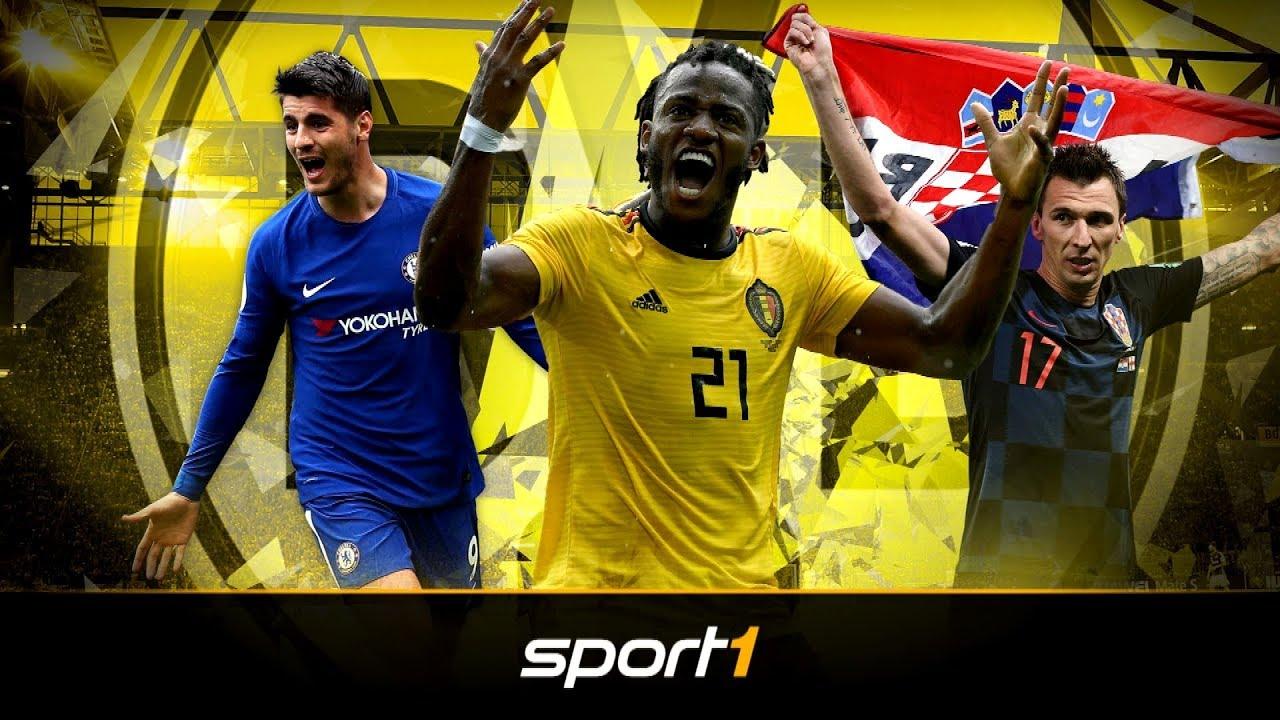 BVB auf Stürmersuche: Das sind die Top-Kandidaten bei Borussia Dortmund | SPORT1