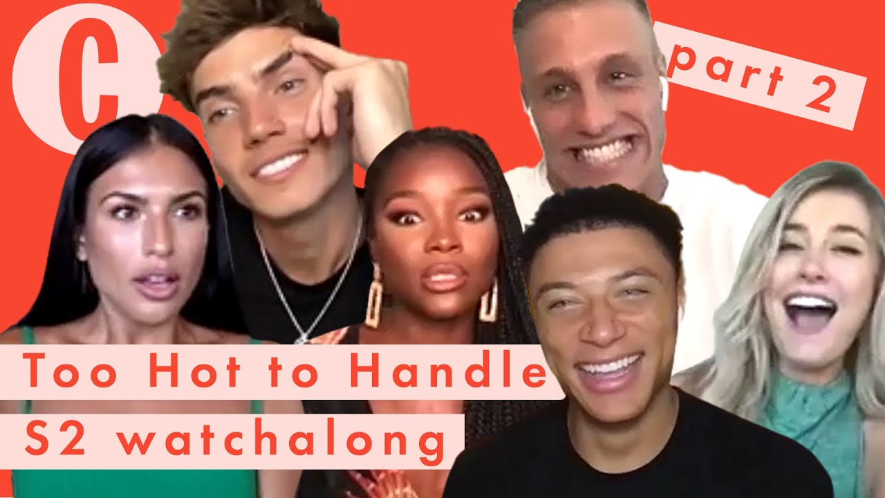 """Download """"We didn't speak for a while"""" Too Hot To Handle cast react to season 2's major rule break   PART 2"""