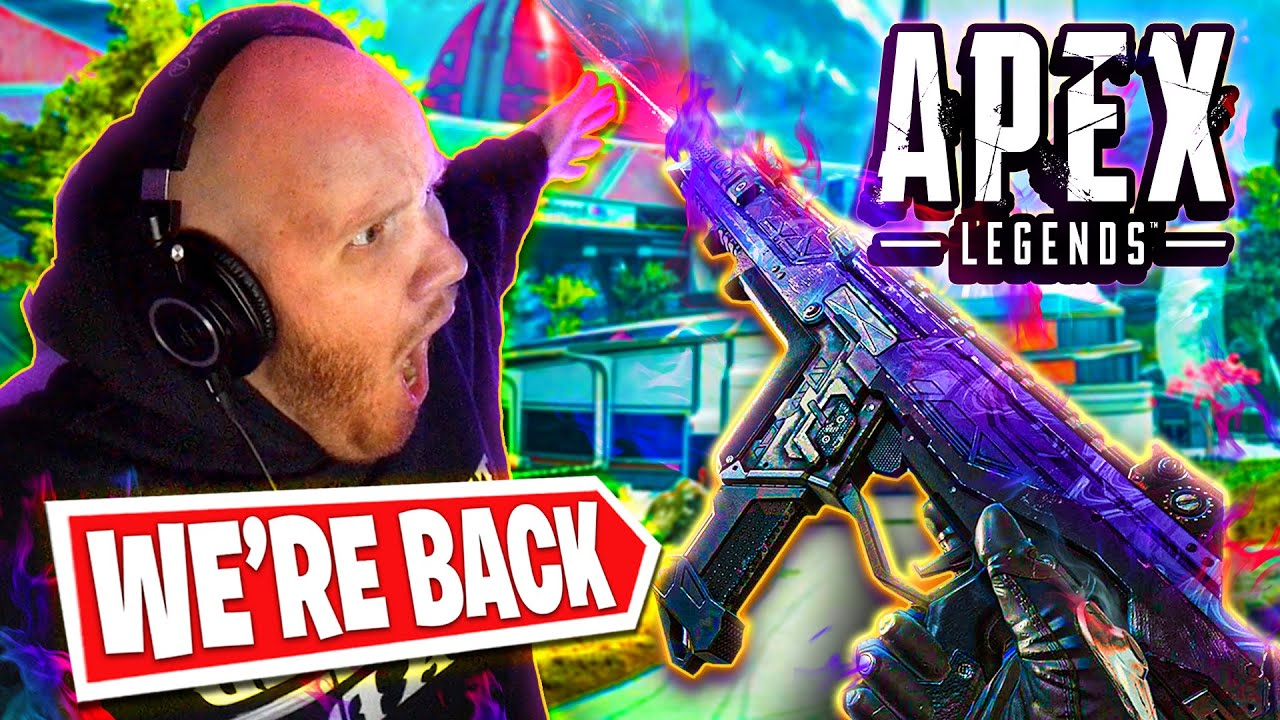 TRYING APEX LEGENDS AGAIN WITH NICKMERCS!