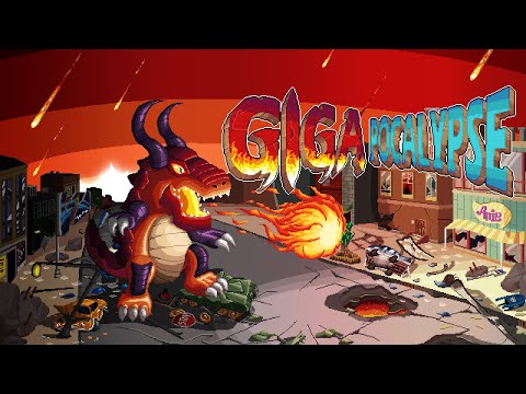 Gigapocalypse (Early Access) gameplay.  