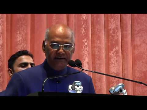 Hon'ble President visits BARC Mumbai May 2018