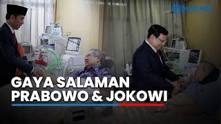 Perbedaan Gaya Bersalaman antara Jokowi dan Prabowo Ketika Menjenguk SBY