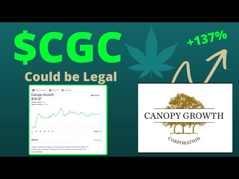 $CGC Stock Has a HUGE Opportunity | Canopy Growth Stock