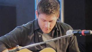 "Jensen Ackles Singing ""The Weight "" @ JIB"