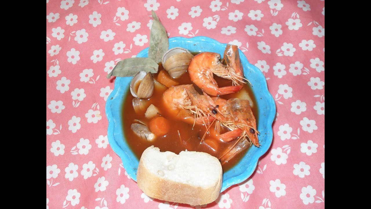 Receta para cocinar un rico caldo de camar n la receta for Resetas para cocinar