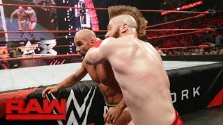 Cesaro vs. Sheamus: Raw, Aug. 8, 2016