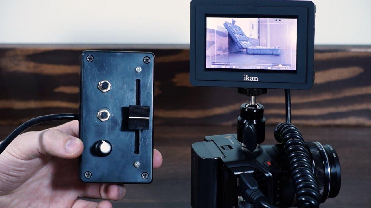 Bmmcc Remote Control Learn To Build Your Own Blackmagic Micro Cinema Camera Remote Youtube