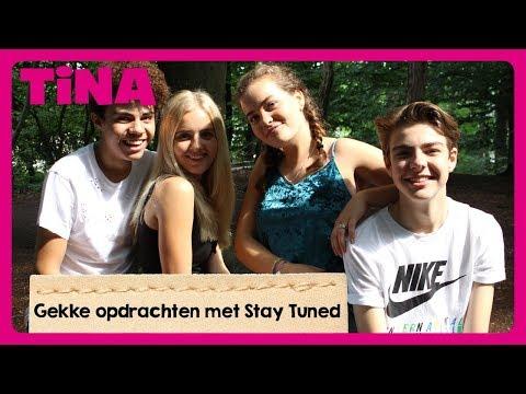 STAY TUNED KNUFFELT met VREEMDEN? | Tina