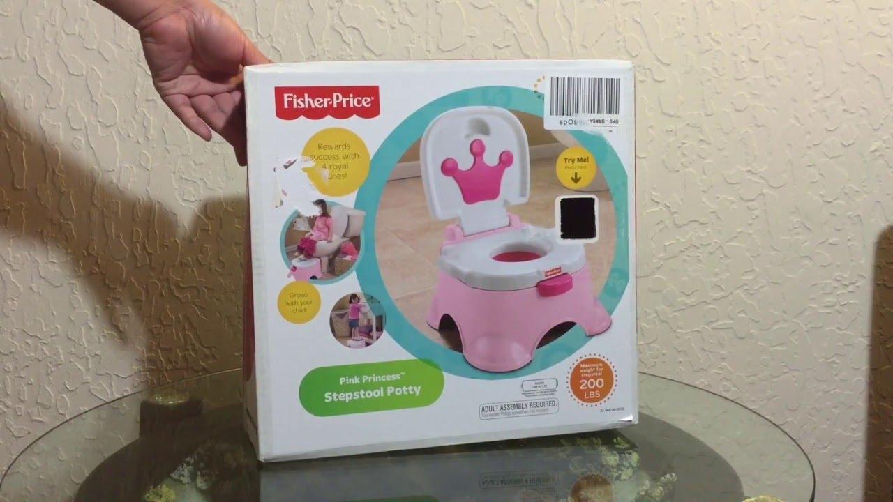 Fisher Price Pink Princess Stepstool Potty & Fisher Price Pink Princess Stepstool Potty - YouTube islam-shia.org