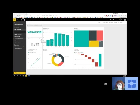 Dashboard in an Hour with Reid Havens