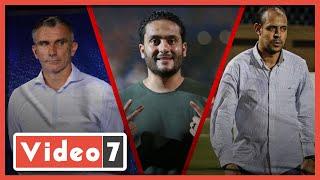الدكش يكشف ما فعله النحاس مع مصطفى محمد بعد مشاجرته مع لاعب المقاولون